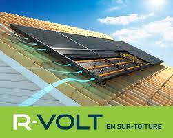 Produire électricité chauffage aérovoltaïque R-volt
