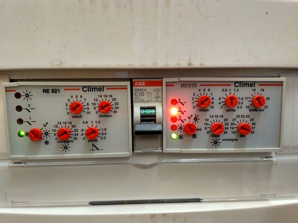 installer thermostat régulation température économies énergie